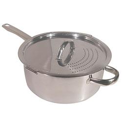 Easy-Pour Locking Lid Pot