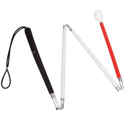 Europa Folding Cane w-Reizen Marshmallow Hook Tip- 50-in.