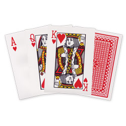 Super Jumbo Playing Cards - 8.25 in. x 11.75 in. cards