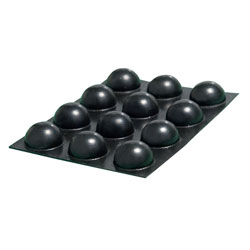 Bump Dots - Small, Black Round - 20 per package