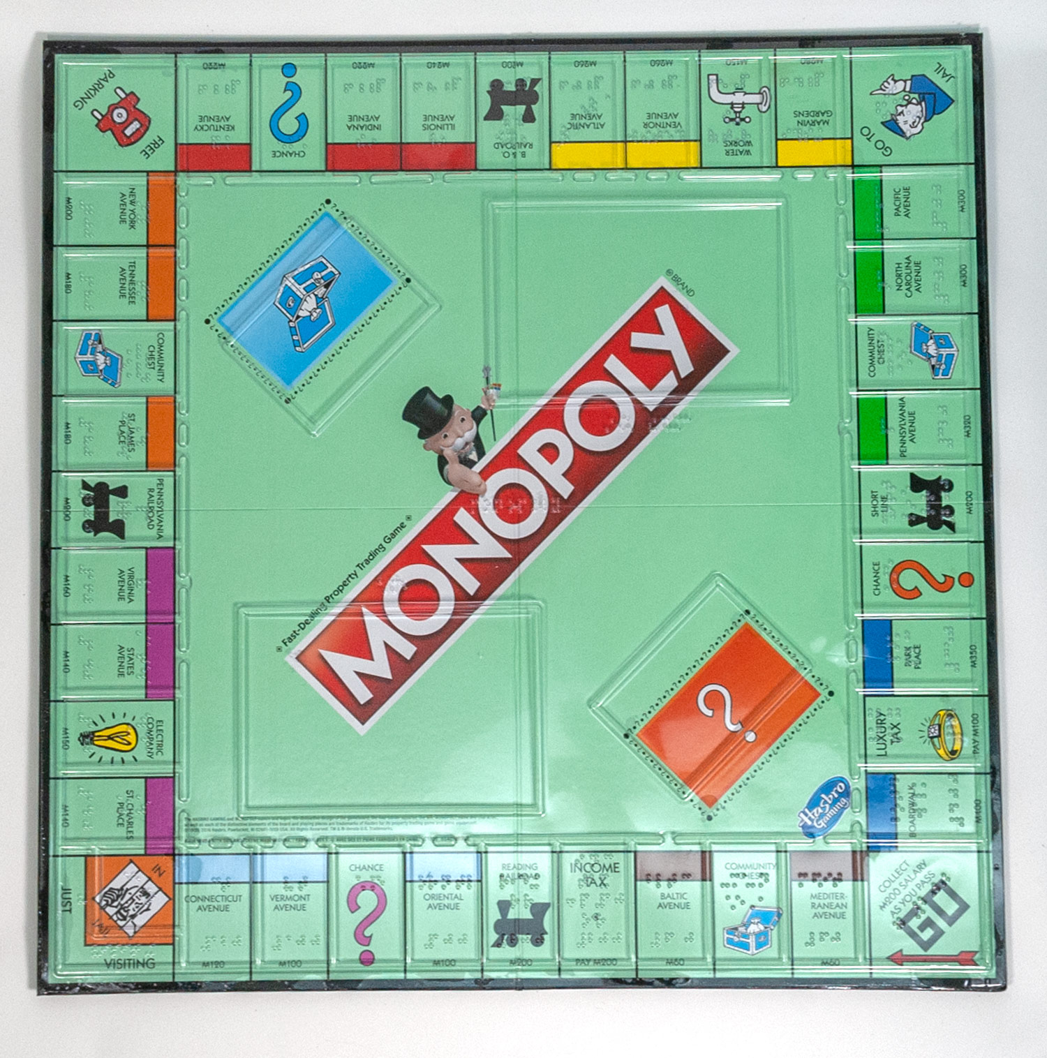 Braille and Low Vision Monopoly