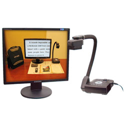 Eye-Flex Electronic Magnifier for Low Vision- 24-inch Monitor