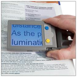 LookyPlus Handheld Video Magnifier - 2x to 20x