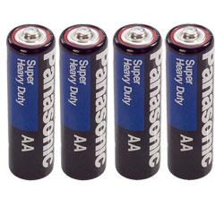 AA Batteries- 4-Pack