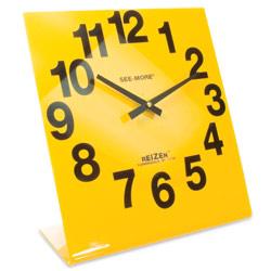 Reizen Giant View Clock- Yellow Face