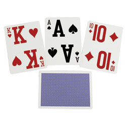 Elite Low Vision Playing Cards - Two Decks