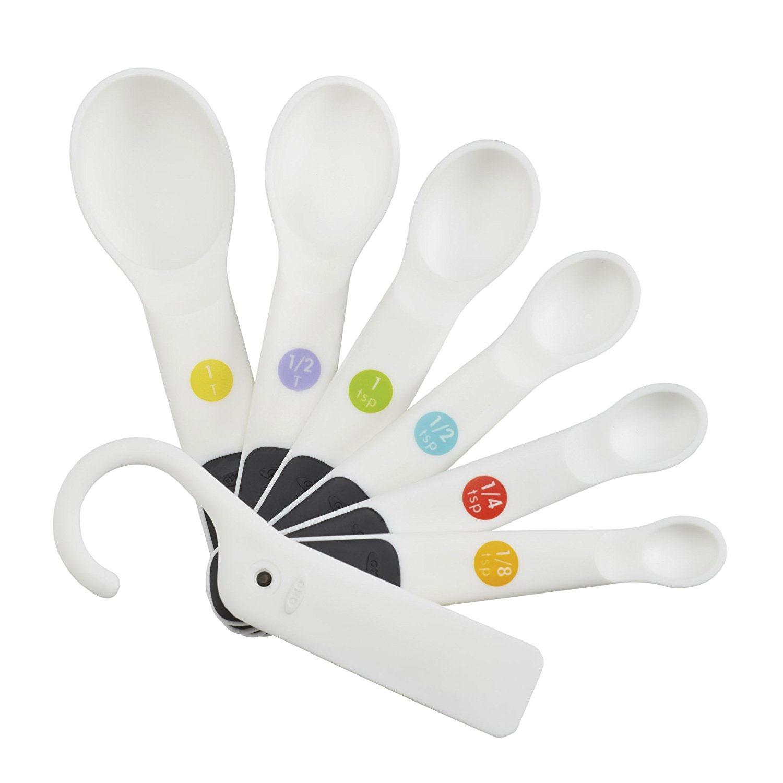 Good Grips Utensils -White - Measuring Spoon Set