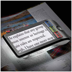 SmartLux Digital Handheld Video Magnifier with Stand and 5-in. LCD