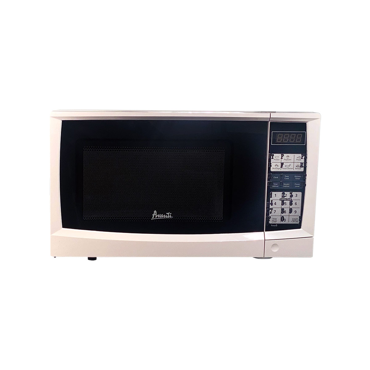 Compact Microwave-Express Cook-Tactile-White