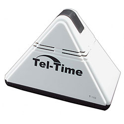 Tel-Time Pyramid Talking Alarm Clock