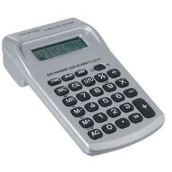Big Number Pocket Talking Calculator with Clock