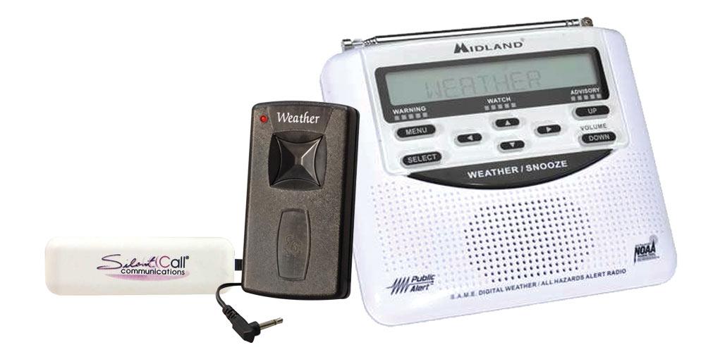 Midland Alert Weather Radio with Vibrator
