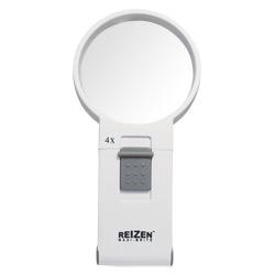 Reizen Maxi-Brite LED Handheld Magnifier - 4X