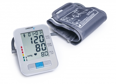 Lumiscope Deluxe Auto-Inflate Blood Pressure Monitor