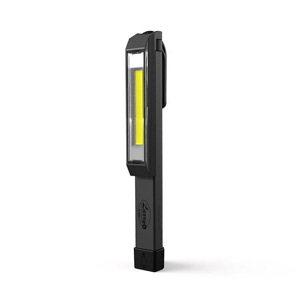 The Larry C- LED Pocket Work Light- Gray