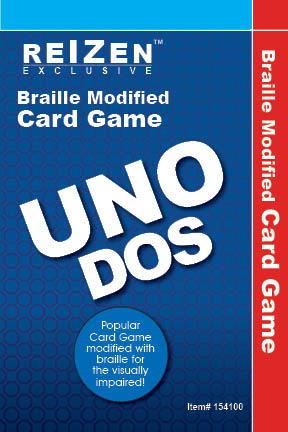 Uno Dos Braille Card Game