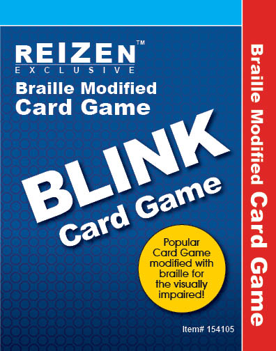 Blink Braille Card Game