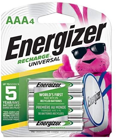 4 AAA NiMh Batteries