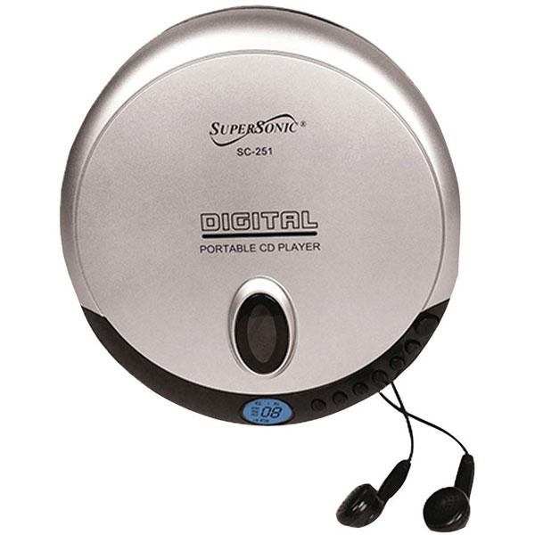 Super-Slim Personal CD Player