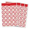 Extra Labels for Foxy Reader Talking Label Reader - Set 2 - 240 Labels