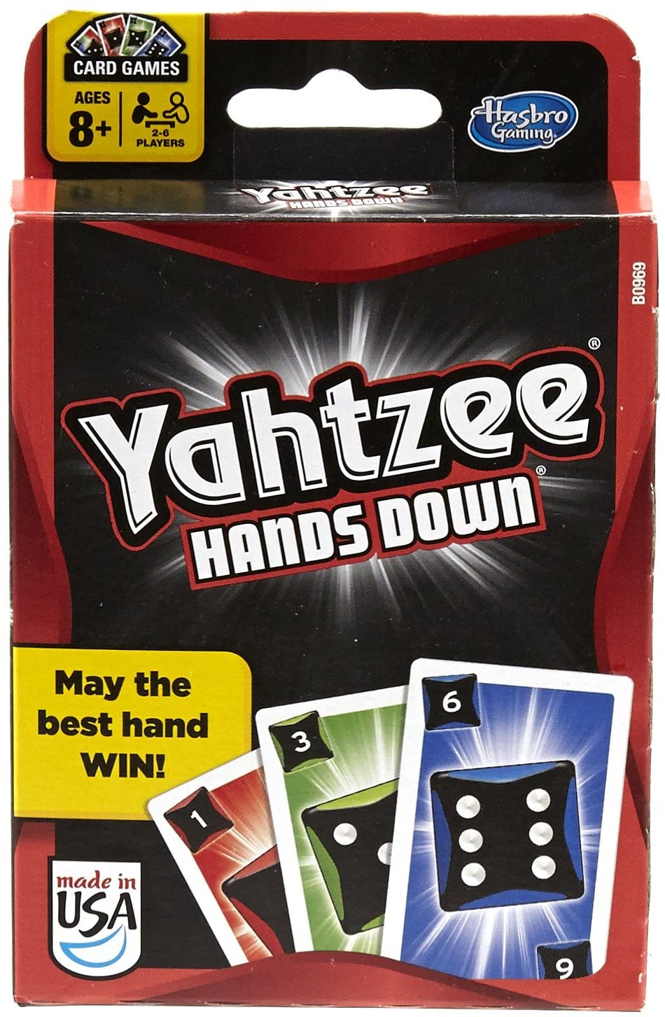 Yahtzee Hands Down- Modified Braille Card Game