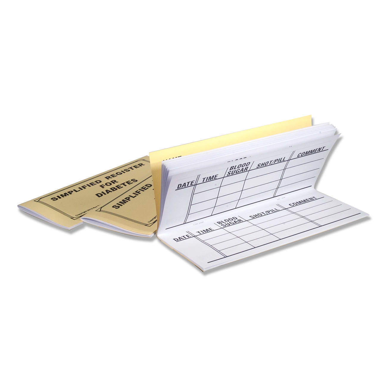 Large Print Register for Diabetes