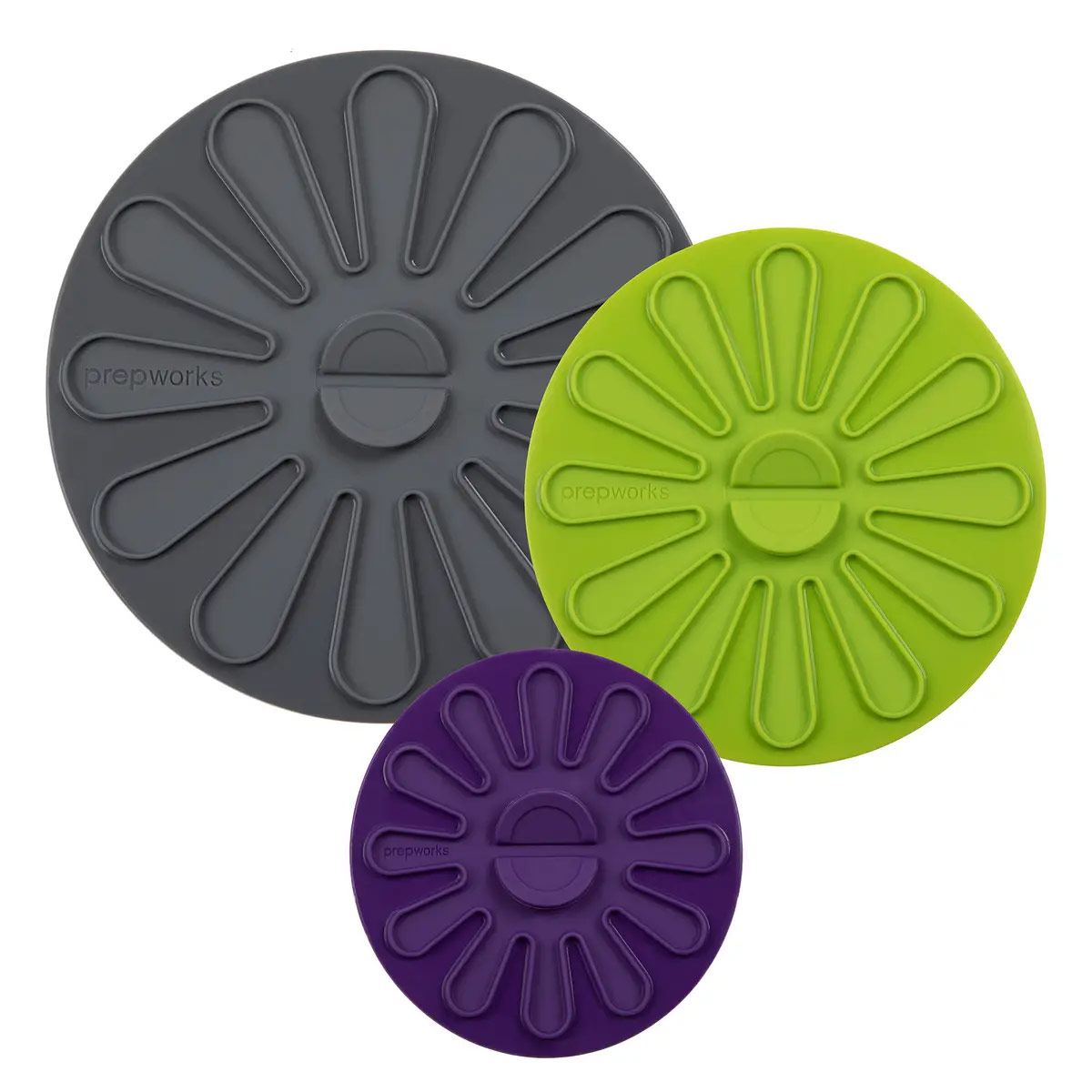 Multi-Function Silicone Lids (Set of 3)