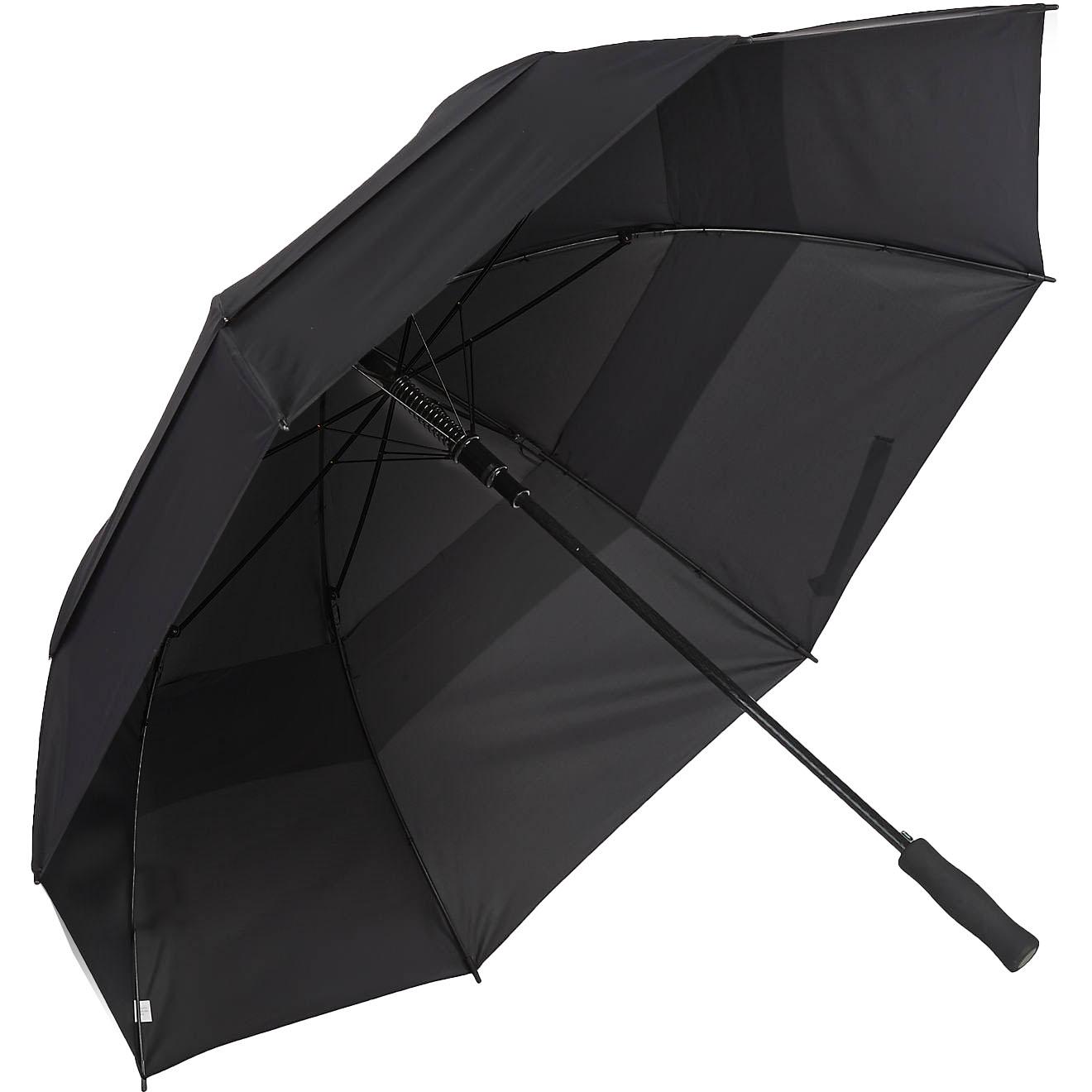Totesport Automatic Open Golf Umbrella- Vented Canopy- 60-inch Arc
