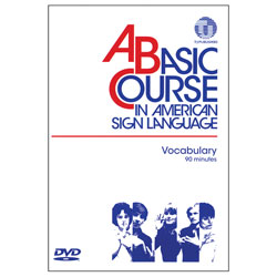 A Basic Course in American Sign Language -DVD - click to view larger image