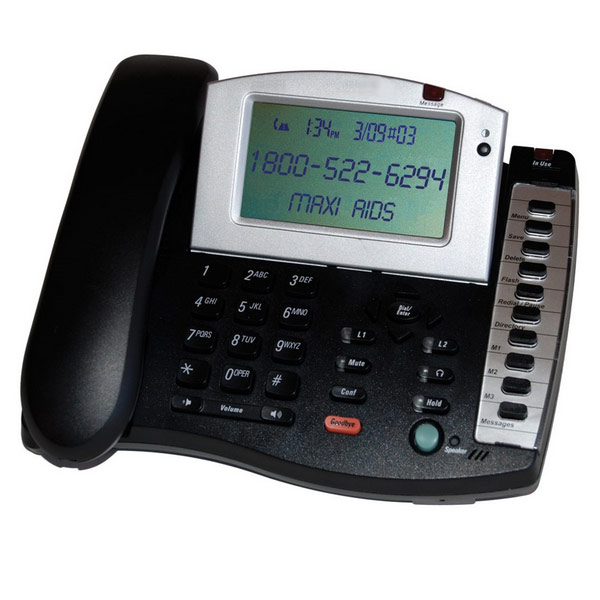 Amplified Business Speakerphone - 1 line - click to view larger image