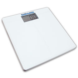 Digital Bath Scale with Large LCD for Low Vision - click to view larger image