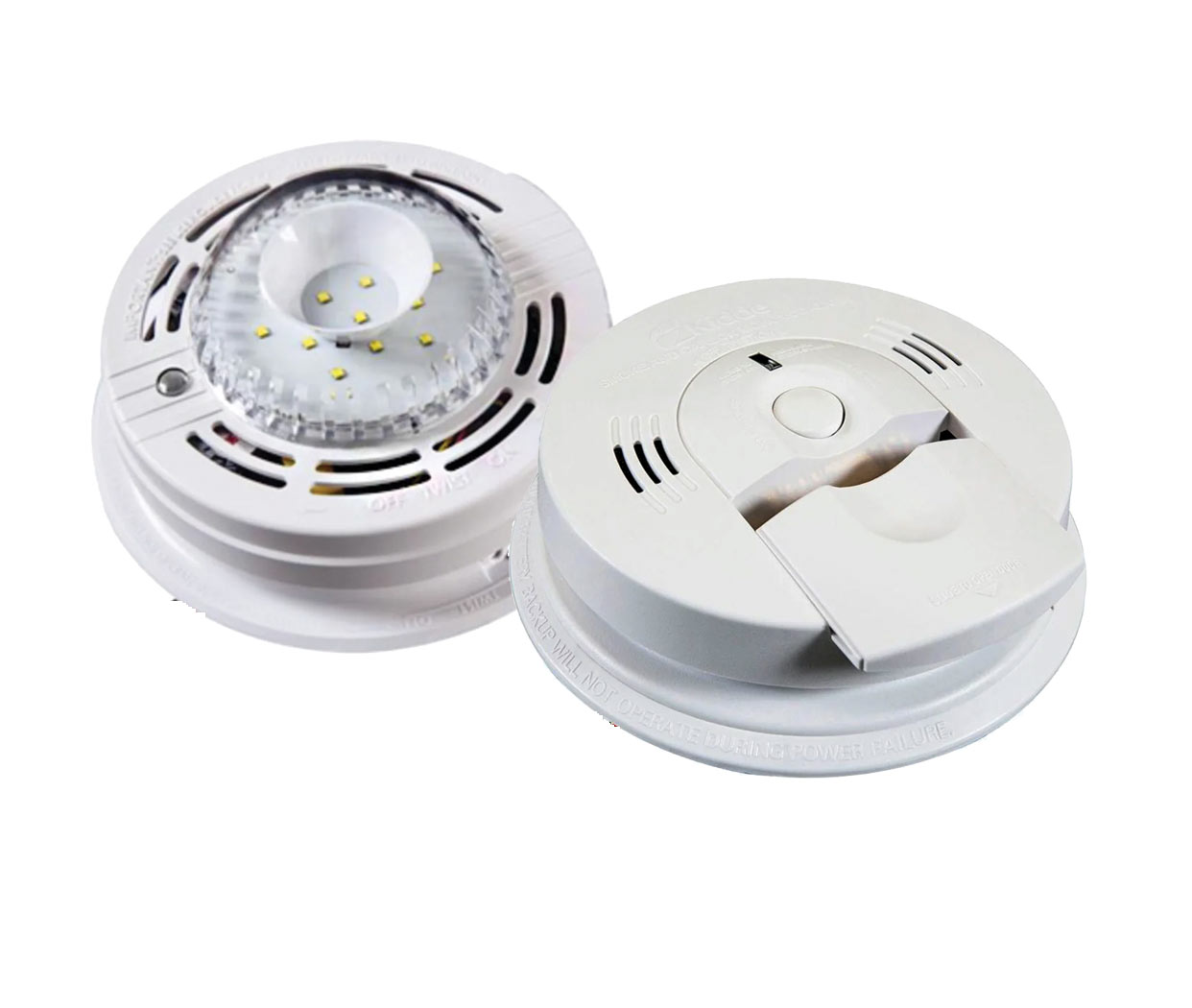 Kidde Combo Carbon Monoxide and Smoke Alarm with Strobe Light - click to view larger image