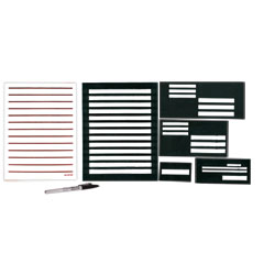 Superior Writing Guide Kit with 20-20 Pen and Low Vision Paper - click to view larger image