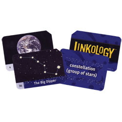 Linkology Solar System Braille Card Game - click to view larger image