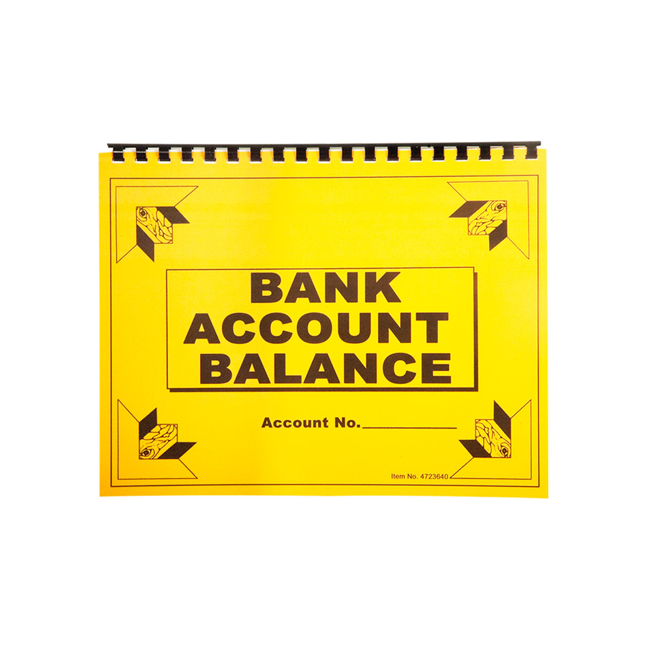 Large Print Check Deposit Register - click to view larger image