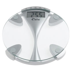Low Vision Glass Weight Tracking Electronic Scale - click to view larger image