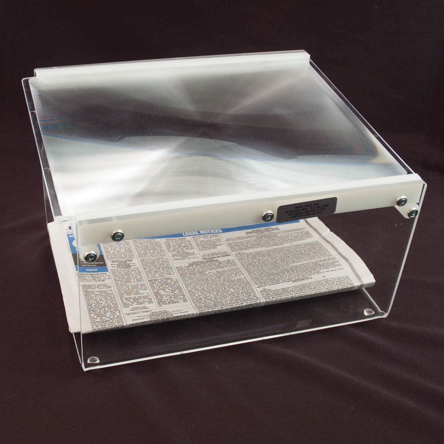 EZ Page Magnifier - 13 3-4 inches X 16 inches - click to view larger image