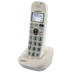 Clarity D702HS Handset for D702 and D712 Amplified Low Vision Phones - click to view larger image