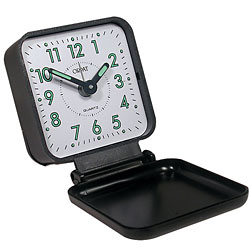 Braille Travel Alarm Clock - click to view larger image