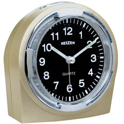 Reizen Braille Quartz Alarm Clock with Vibrating Option - click to view larger image