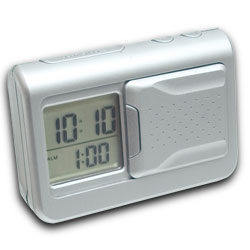 Shake-N-Lite Vibrating Alarm Clock with Backlight - click to view larger image