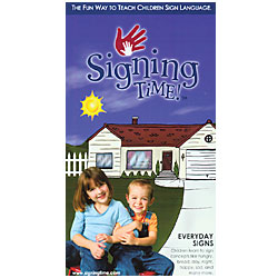Signing Time Vol 3 Everyday Signs Vhs Products For