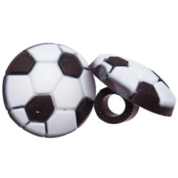 Tube Rider for BTE Hearing Aids and Cochlear Implants- Soccer Ball - click to view larger image