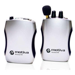 Motiva PFM-360 Personal FM System with Plug Mount Microphone - click to view larger image
