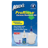 Macks ProRinse Earwax Removal Kit - click to view larger image