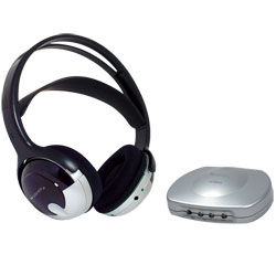 TV Listener Rechargeable Wireless Headset- 40dB - click to view larger image