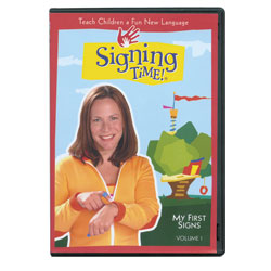 Signing Time Vol. 1 - My First Signs -DVD - click to view larger image