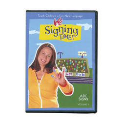 Signing Time Vol. 5 - ABC Signs -DVD - click to view larger image