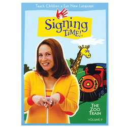 The Zoo Train, Signing Times DVD Volume 9 - click to view larger image