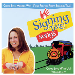 Signing Time Songs Volume 7 - 9 Music CD-Rom - click to view larger image